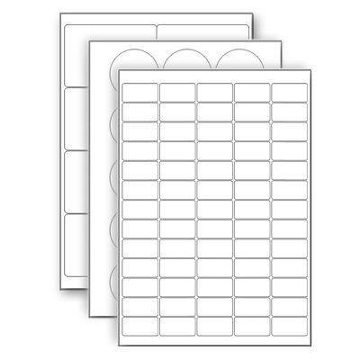 Hárkové print etikety A4 do tlačiarne